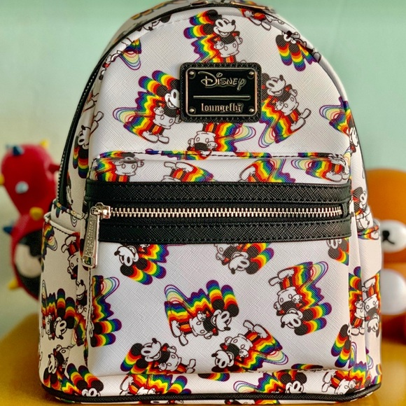 3e5795195ea Rainbow Mickey Mini Backpack